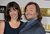 Actor Jack Black and Tanya Haden arrive at the 18th Annual Critics' Choice Movie Awards at Barker Hangar on January 10, 2013 in Santa Monica, California.  (Photo by Frazer Harrison/Getty Images)