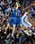 Denver Nuggets Andre Iguodala, right, looks for an open teammate while being defended by Minnesota Timberwolves guard Alexey Shved, left, of Russia, and forward Dante Cunningham, center, in the second half of an NBA basketball game on Saturday, March 9, 2013, in Denver.  (AP Photo/Chris Schneider)
