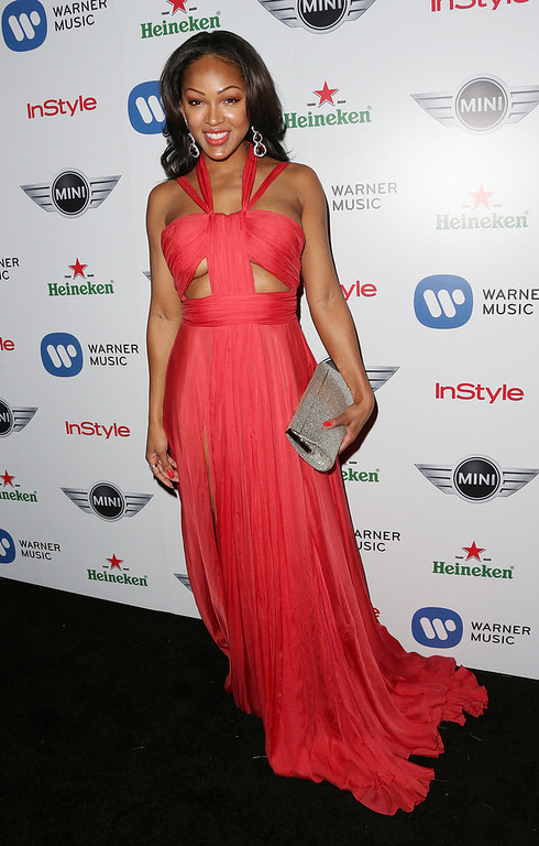 Description of . Actress Meagan Good attends Warner Music Group's 2013 Grammy Celebration at Chateau Marmont's Bar Marmont on February 10, 2013 in Hollywood, California.  (Photo by Frederick M. Brown/Getty Images)