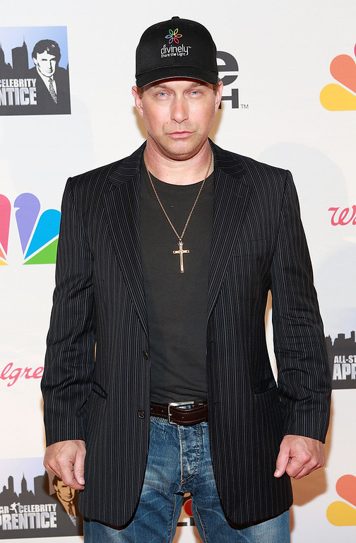 "Description of . Stephen Baldwin attends ""All Star Celebrity Apprentice\"" Finale at Cipriani 42nd Street on May 19, 2013 in New York City.  (Photo by Robin Marchant/Getty Images)"