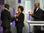 Wanda Sykes, center, and Wayne Brady, right, present Don Cheadle the award for outstanding actor in a comedy series for 