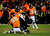 Denver Broncos outside linebacker Von Miller (58) tackled Baltimore Ravens quarterback Joe Flacco (5). The Denver Broncos vs Baltimore Ravens AFC Divisional playoff game at Sports Authority Field Saturday January 12, 2013. (Photo by AAron  Ontiveroz,/The Denver Post)