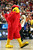LEXINGTON, KY - MARCH 21:  The Louisville Cardinals mascot performs during the second round of the 2013 NCAA Men's Basketball Tournament at the Rupp Arena on March 21, 2013 in Lexington, Kentucky.  (Photo by Andy Lyons/Getty Images)
