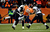 Denver Broncos tight end Joel Dreessen (81) celebrates a first down during the second half.  The Denver Broncos vs Baltimore Ravens AFC Divisional playoff game at Sports Authority Field Saturday January 12, 2013. (Photo by Joe Amon,/The Denver Post)