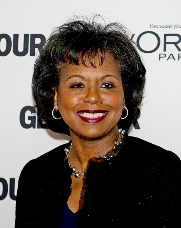 Description of . Anita Hill arrives at Glamour Magazine\'s 21st annual Women of the Year Awards November 7, 2011 at Carnegie Hall in New York. DON EMMERT/AFP/Getty Images