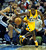 Denver forward Kenneth Faried (35) contested a loose ball with Spurs forward Tim Duncan (21) in the first half. The Denver Nuggets hosted the San Antonio Spurs at the Pepsi Center Tuesday night, December 18, 2012. Karl Gehring/The Denver Post