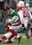 New York Jets running back Kahlil Bell, center, fumbles a ball as Arizona Cardinals cornerback Greg Toler, bottom, and linebacker Daryl Washington (58) defend on the play during the second half of an NFL football game, Sunday, Dec. 2, 2012, in East Rutherford, N.J. (AP Photo/Kathy Willens)