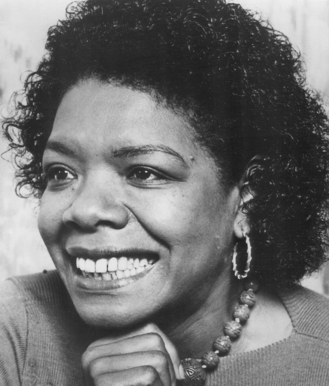 . Maya Angelou, 1993. Denver Post Library photo archive