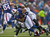 Brad Smith #16 of the Buffalo Bills is stopped after a gain against the Jacksonville Jaguars at Ralph Wilson Stadium on December 2, 2012 in Orchard Park, New York.  (Photo by Rick Stewart/Getty Images)