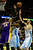 Los Angeles Lakers center Dwight Howard (12) contends for a rebound with Denver Nuggets small forward Kenneth Faried (35) and center Kosta Koufos (41) during the first half at the Pepsi Center on Wednesday, December 26, 2012. AAron Ontiveroz, The Denver Post