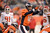 Denver Broncos quarterback Peyton Manning (18) calls a play at the line in the third quarter as the Denver Broncos took on the Kansas City Chiefs at Sports Authority Field at Mile High in Denver, Colorado on December 30, 2012. John Leyba, The Denver Post