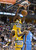 DENVER, CO. - JANUARY 20: Denver Nuggets small forward Kenneth Faried (35) screams out after slamming down a dunk on Oklahoma City Thunder power forward Serge Ibaka (9) during the first quarter January 20,  2013 at Pepsi Center. The Denver Nuggets defeated the Oklahoma City Thunder 121-118.  (Photo By John Leyba / The Denver Post)
