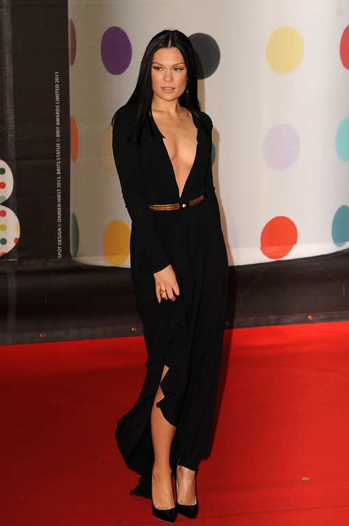 Description of . Jessie J attends the Brit Awards 2013 at the 02 Arena on February 20, 2013 in London, England.  (Photo by Eamonn McCormack/Getty Images)