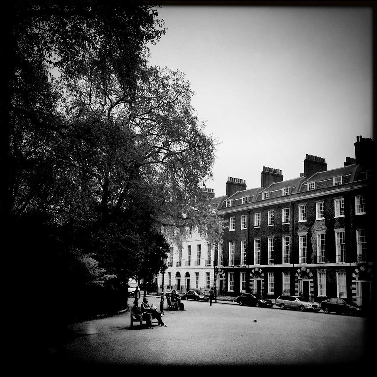 Description of . A general view of Berkeley Square on May 2, 2012 in London, England. (Photo by Vittorio Zunino Celotto/Getty Images)