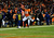 Denver Broncos wide receiver Demaryius Thomas (88) scores a touchdown in the second half.  The Denver Broncos vs Baltimore Ravens AFC Divisional playoff game at Sports Authority Field Saturday January 12, 2013. (Photo by Joe Amon,/The Denver Post)