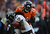 Denver Broncos cornerback Champ Bailey (24) breaks up a pass intended for Baltimore Ravens wide receiver Torrey Smith (82) during the first half.  The Denver Broncos vs Baltimore Ravens AFC Divisional playoff game at Sports Authority Field Saturday January 12, 2013. (Photo by Hyoung Chang,/The Denver Post)