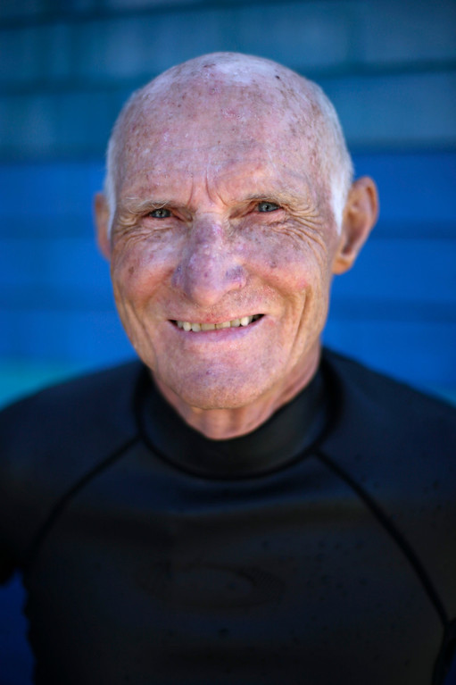 Description of . Richard Hardick, 74, stands in his wetsuit after surfing in San Diego on Tuesday, Sept. 17, 2013. When asked: As you grow older, what are you most afraid of and what is the biggest problem facing the elderly in your country? Hardick said,
