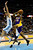 Los Angeles Lakers small forward Metta World Peace (15) drives on Denver Nuggets small forward Danilo Gallinari (8) during the second half of the Nuggets' 126-114 win at the Pepsi Center on Wednesday, December 26, 2012. AAron Ontiveroz, The Denver Post