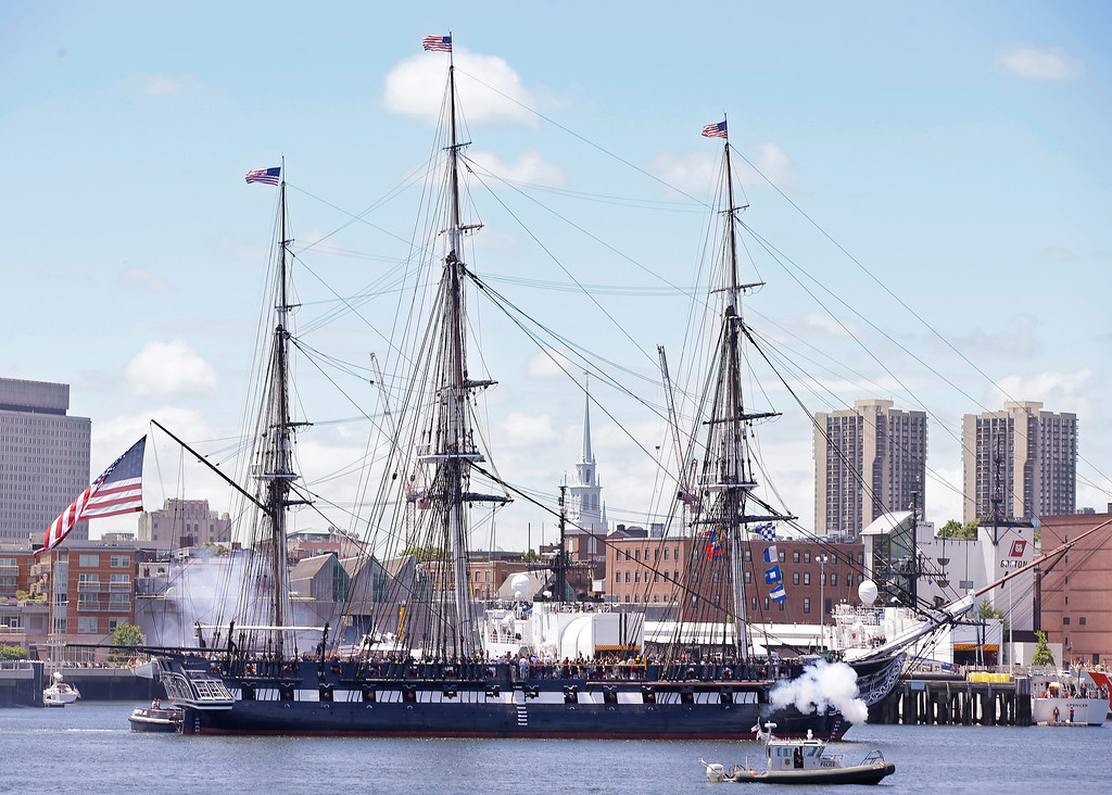 Description of . The USS Constitution, or
