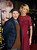 Actress Jenna Elfman (R) and her husband actor Bodhi Elfman arrive at the premiere of Universal Pictures'