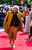 A member of the extras' cast poses on the red carpet at the world premiere of 'The Hobbit - An Unexpected Journey' in Wellington November 28, 2012.    REUTERS/Mark Coote