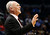 Denver Nuggets head coach George Karl smiles during the fourth quarter of an NBA basketball game against the Oklahoma City Thunder in Oklahoma City, Tuesday, March 19, 2013. Denver won 114-104. (AP Photo/Sue Ogrocki)