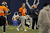 Denver Broncos head coach John Fox and Denver Broncos quarterback Peyton Manning (18) smiles during practice Wednesday, December 19, 2012 at Dove Valley as they prepare for the Cleveland Browns.  John Leyba, The Denver Post
