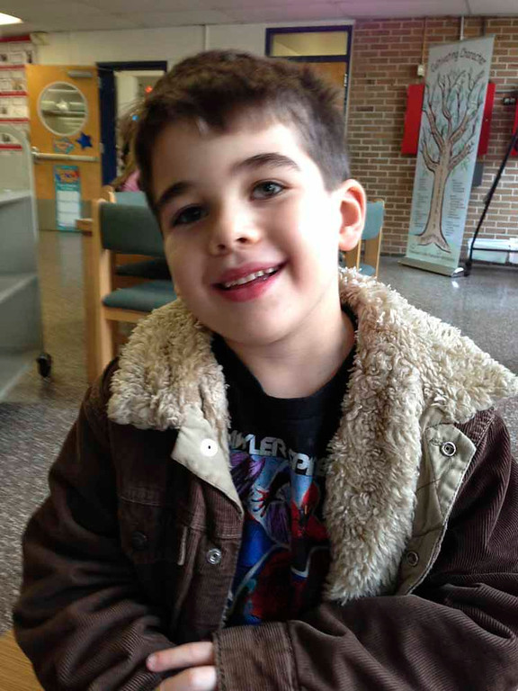 Description of . This Nov. 13, 2012 photo provided by the family via The Washington Post shows Noah Pozner. The six-year-old was one of the victims in the Sandy Hook elementary school shooting in Newtown, Conn. on Dec. 14, 2012. (AP Photo/Family Photo)
