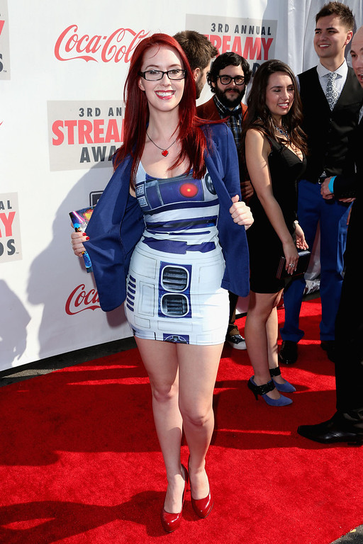 Description of . Meg Turney attends the 3rd Annual Streamy Awards at Hollywood Palladium on February 17, 2013 in Hollywood, California.  (Photo by Frederick M. Brown/Getty Images)