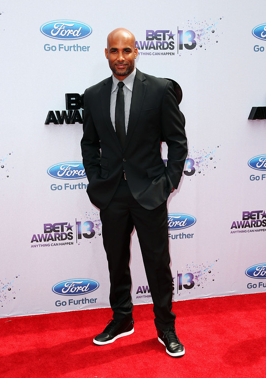Description of . Actor Boris Kodjoe attends the 2013 BET Awards at Nokia Theatre L.A. Live on June 30, 2013 in Los Angeles, California.  (Photo by Frederick M. Brown/Getty Images for BET)