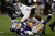 Michael Clay #46 of the Oregon Ducks sacks Collin Klein #7 of the Kansas State Wildcats in the second quarter of the Tostitos Fiesta Bowl at University of Phoenix Stadium on January 3, 2013 in Glendale, Arizona.  (Photo by Ezra Shaw/Getty Images)