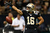 Lance Moore #16 of the New Orleans Saints reacts after making a first down against the Tampa Bay Buccaneers at the Mercedes-Benz Superdome on December 16, 2012 in New Orleans, Louisiana.  (Photo by Chris Graythen/Getty Images)