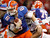 Florida quarterback Jeff Driskel (6) is sacked by Louisville defensive end Marcus Smith (91) in the first half of the Sugar Bowl NCAA college football game Wednesday, Jan. 2, 2013, in New Orleans. (AP Photo/Butch Dill)