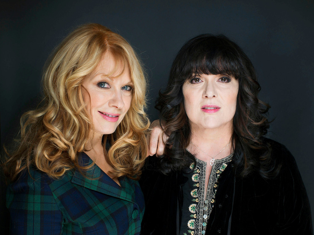 Description of . This Oct. 1, 2012 file photo shows sisters Nancy, left, and Ann Wilson from Heart in New York. The eclectic group of rockers Rush and Heart, rappers Public Enemy, songwriter Randy Newman,