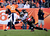 Denver Broncos running back Ronnie Hillman #21 gains 9 yards against Tampa Bay Buccaneers free safety Ronde Barber #20 during the third quarter.  The Denver Broncos vs The Tampa Bay Buccaneers at Sports Authority Field Sunday December 2, 2012. AAron  Ontiveroz, The Denver Post