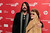 Musicians Dave Grohl (L) and Stevie Nicks arrive for the premiere of the documentary 
