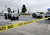 Orange County Sheriff deputies investigate a crime scene on February 19, 2013 in Tustin, California.   (Photo by Kevork Djansezian/Getty Images)