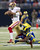 Defensive end Eugene Sims #92 of the St. Louis Rams sacks quarterback Colin Kaepernick #7 of the San Francisco 49ers during the game at the Edward Jones Dome on December 02, 2012 in St. Louis, Missouri. (Photo by David Welker/Getty Images)