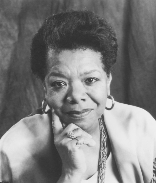 . Maya Angelou, 1994. Denver Post Library photo archive