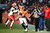Denver Broncos tight end Joel Dreessen (81) tries to avoid the sidelines as he's tackled by Kansas City Chiefs free safety Kendrick Lewis (23) as the Denver Broncos took on the Kansas City Chiefs at Sports Authority Field at Mile High in Denver, Colorado on December 30, 2012. AAron Ontiveroz, The Denver Post