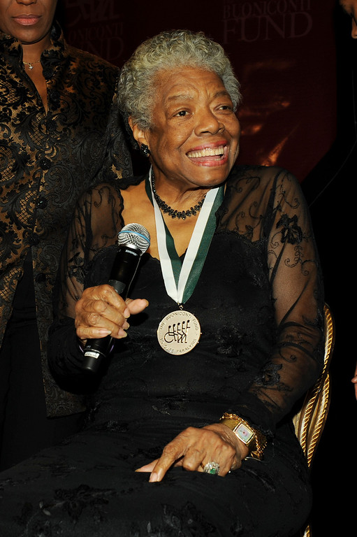 . Honoree Dr. Maya Angelou attends The 24th Annual Great Sports Legends Dinner benefiting The Buoniconti Fund to Cure Paralysis (national fundraising arm of The Miami Project to Cure Paralysis) at The Waldorf=Astoria on October 6, 2009 in New York, New York.  (Photo by Stephen Lovekin/Getty Images for The Miami Project)
