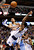 Dallas Mavericks guard Chris Douglas-Roberts (R) is fouled by Denver Nuggets center JaVale McGee during the first half of their NBA basketball game in Dallas, Texas, December 28, 2012.  REUTERS/Mike Stone