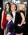 Danish director Niels Arden Oplev poses with his children (L-R) Linea, Thoreau and Anna at the premiere of his new film 