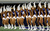 The Dallas Cowboys Cheerleaders perform before the Dallas Cowboys take on the Philadelphia Eagles at Cowboys Stadium on December 2, 2012 in Arlington, Texas.  (Photo by Tom Pennington/Getty Images)