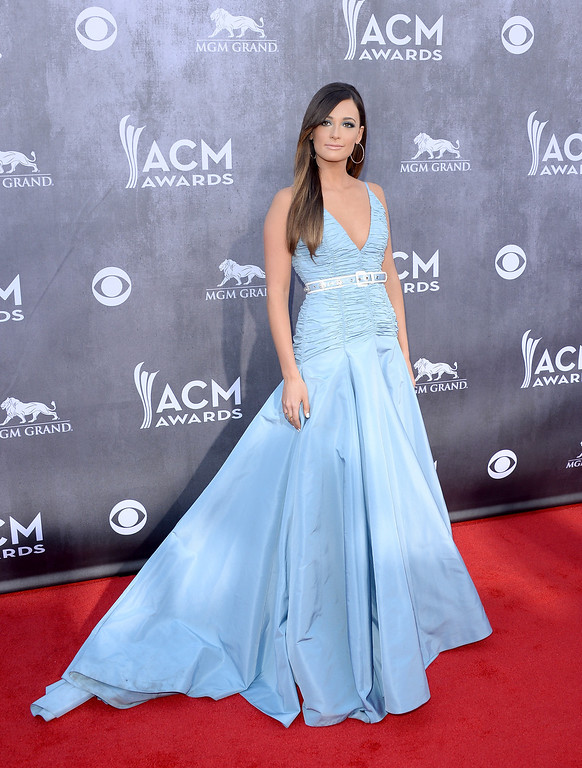 Description of . Singer Kacey Musgraves attends the 49th Annual Academy Of Country Music Awards at the MGM Grand Garden Arena on April 6, 2014 in Las Vegas, Nevada.  (Photo by Jason Merritt/Getty Images)