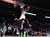 HOUSTON, TX - FEBRUARY 16:  Jeremy Evans of the Utah Jazz dunks the ball over former Jazz player Mark Eaton in the first round during the Sprite Slam Dunk Contest part of 2013 NBA All-Star Weekend at the Toyota Center on February 16, 2013 in Houston, Texas.  (Photo by Ronald Martinez/Getty Images)
