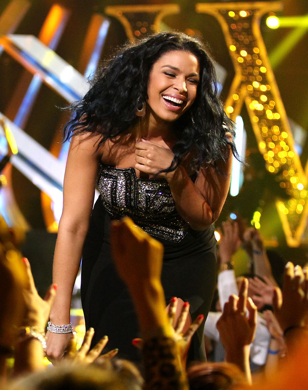 Description of . Jordin Sparks performs at VH1 Divas on Sunday, Dec. 16, 2012, at the Shrine Auditorium in Los Angeles. (Photo by Matt Sayles/Invision/AP)
