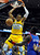 DENVER, CO. - MARCH 21: Andre Iguodala (9) of the Denver Nuggets slammed the ball through the hoop in the first half. The Denver Nuggets hosted the Philadelphia 76ers Thursday night, March 21, 2013 at the Pepsi Center. (Photo By Karl Gehring/The Denver Post)