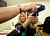 Susan Byrne-Dewhirst learns the proper way to hold a blue dummy handgun as she attends the Arizona Women's Shooting Associates and NRA gun safety training class taught by certified instructor Carol Ruh at Ben Avery Shooting Facility in Phoenix, Arizona, March 13, 2013. REUTERS/Joshua Lott