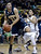 University of Colorado's Askia Booker plays tight defense on Stallon Saldivar during a game against Northern Arizona on Friday, Dec. 21, at the Coors Event Center on the CU campus in Boulder.   (Jeremy Papasso/Daily Camera)